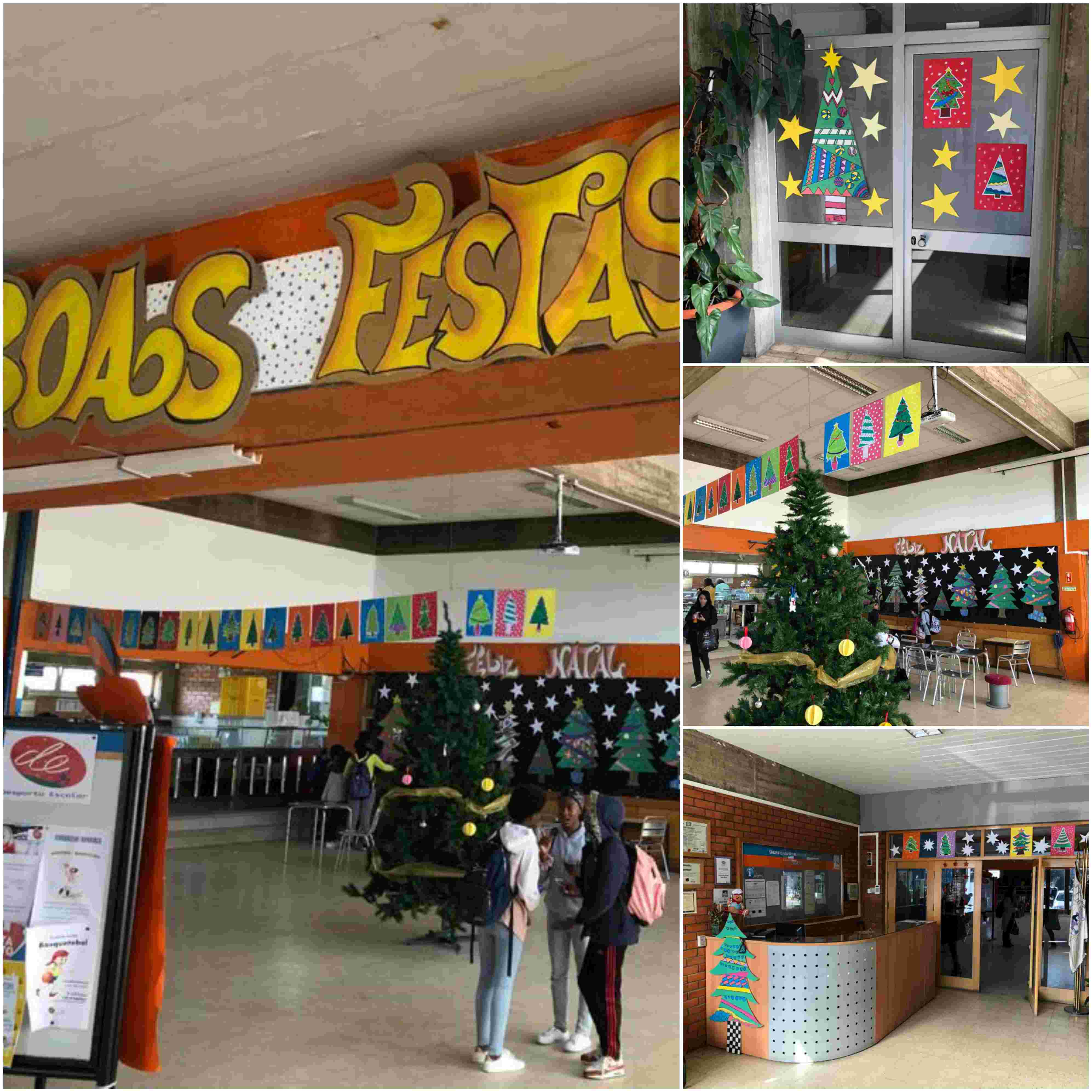 decoracoes natal Collage